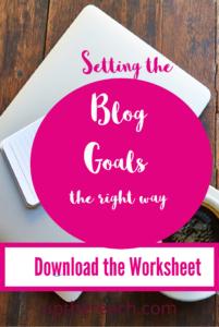 Blog Goal Setting - TheCopyThatSells.com